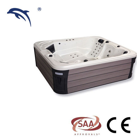Optional Color Bubble Massage Tub Waterfall Music Speaker For Outdoor